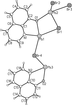 Synthesis And Characterization Of A New Nano Leadii Three