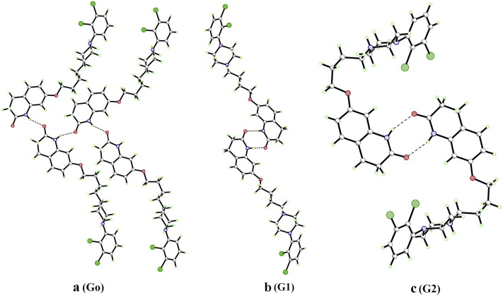 Aripiprazole Salts Iv Anionic Plus Solvato Networks Defining