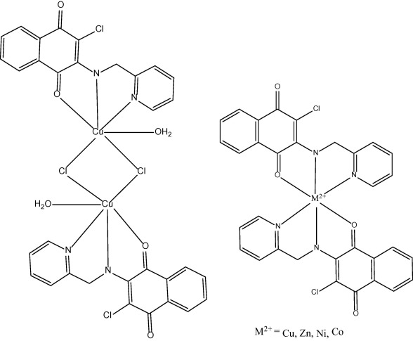 Naphthoquinone Based Chemosensor 2 2 Aminomethylpyridine 3 Chloro