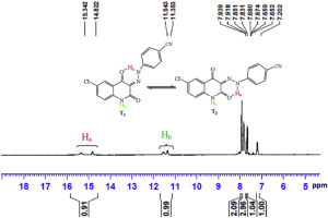 Synthesis, structural elucidation, solvatochromism and
