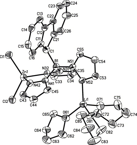 Synthesis And Structural Characterization Of Fluorenyltrispyrazol 1