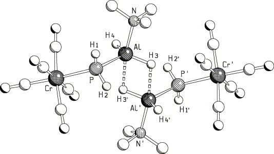 Base Stabilised Phosphanyltrielanes