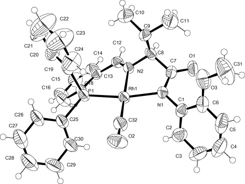 Carbonyl Rhodiumi Complexes Containing Hpnx X O Or N Ligands