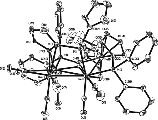Synthesis Of Ru3co9 Dppfpc4h3e3 E O S And Thermally