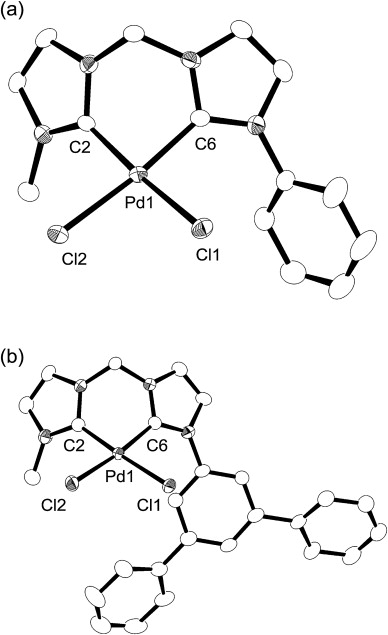 Syntheses And Characterization Of Palladiumii Complexes With A