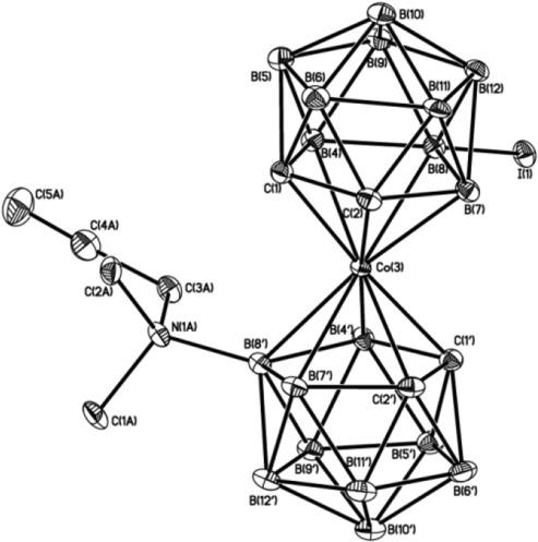 Disubstituted Cobalt Bis12 Dicarbollide I Terminal Alkynes