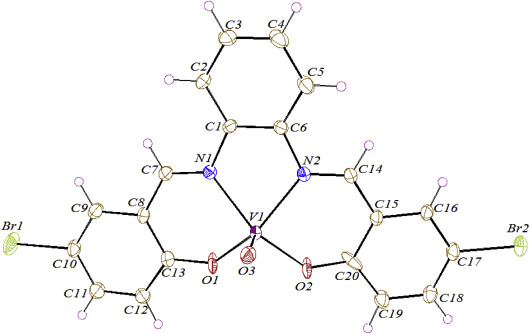 Mononuclear Oxovanadiumiv Schiff Base Complex Synthesis