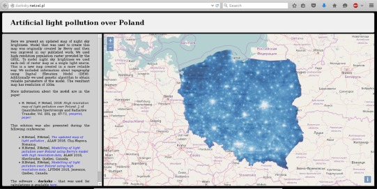 High-resolution map of light pollution - ScienceDirect