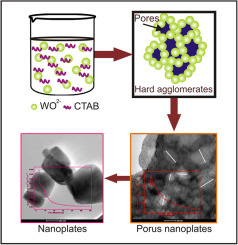 CTAB assisted synthesis of tungsten oxide nanoplates as an efficient