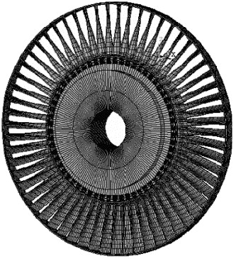 Rotating Vibration Behavior Of The Turbine Blades With Different