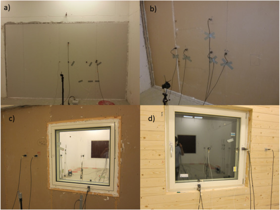 Simulating low frequency sound transmission through walls