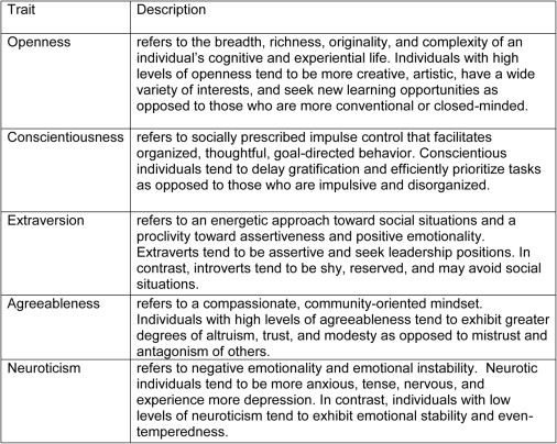 Surgeon and nonsurgeon personalities at different career points