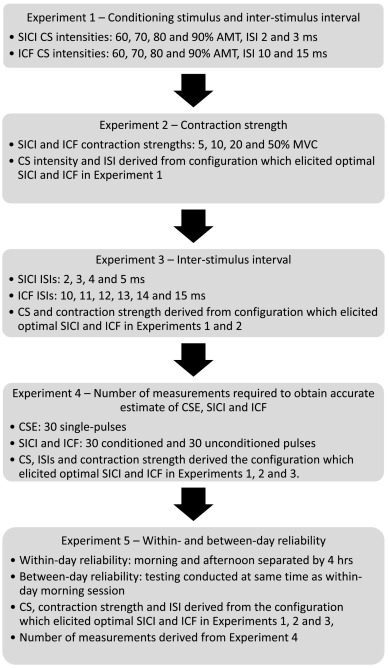 An optimal protocol for measurement of corticospinal