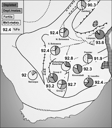 The Evolution Of Lithospheric Mantle Beneath The Kalahari Craton And