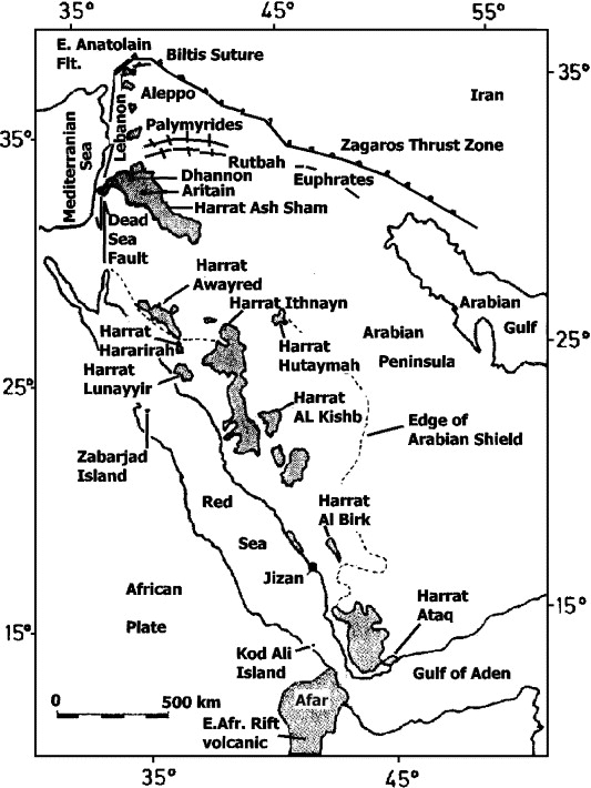 Composition Of The Lower Crust Of The Arabian Plate A Xenolith