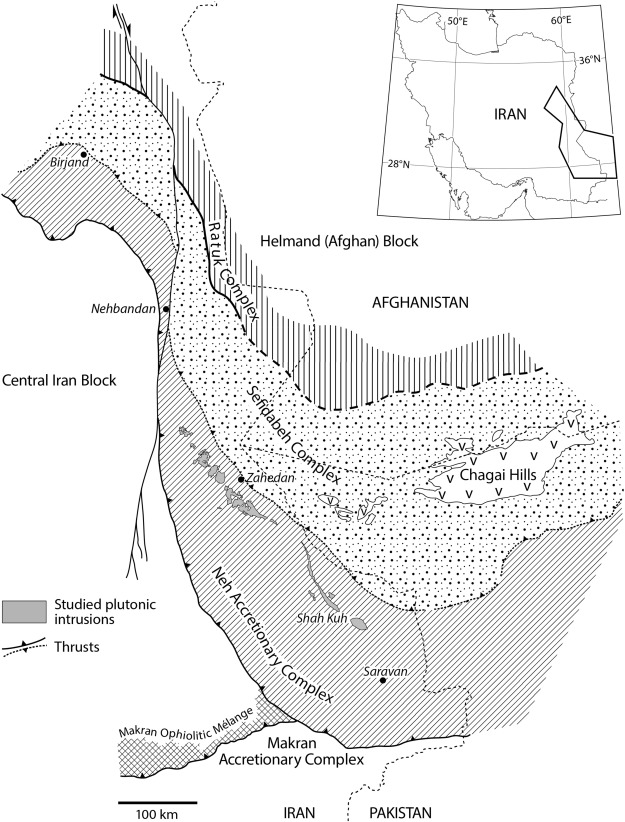 Upb Geochronology And Geochemistry Of Zahedan And Shah Kuh Plutons