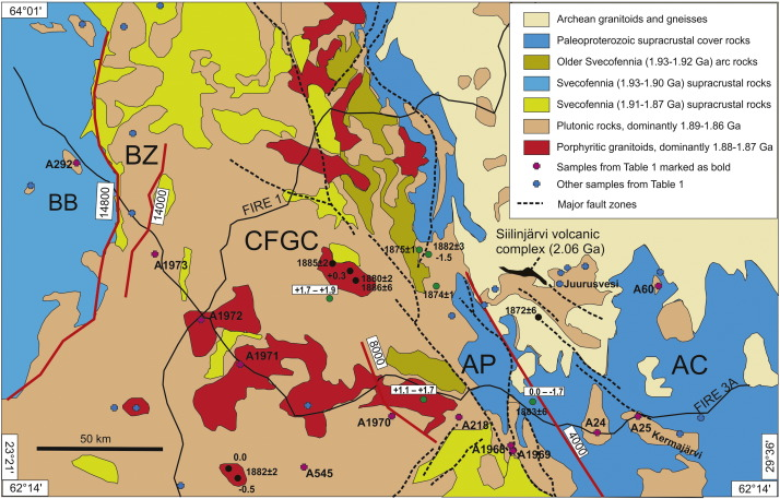 Paleoproterozoic Magmatism Across The Archean Proterozoic Boundary