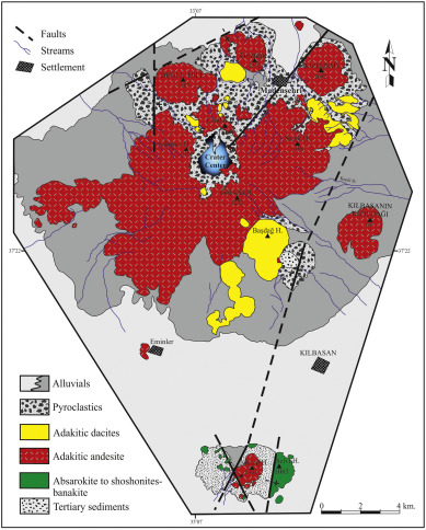 What Processes Control The Genesis Of Absarokite To Shoshonite