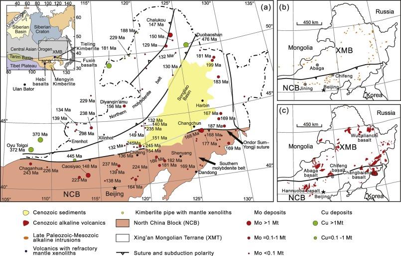 Genesis of porphyry Mo deposits linked to gradually