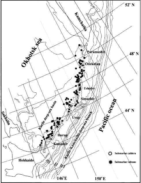Submarine Hydrothermal Activity And Mineralization On The Kurile And