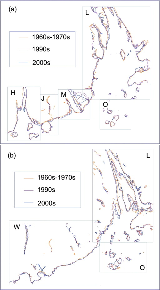 Morphological Change In The Pearl River Delta China