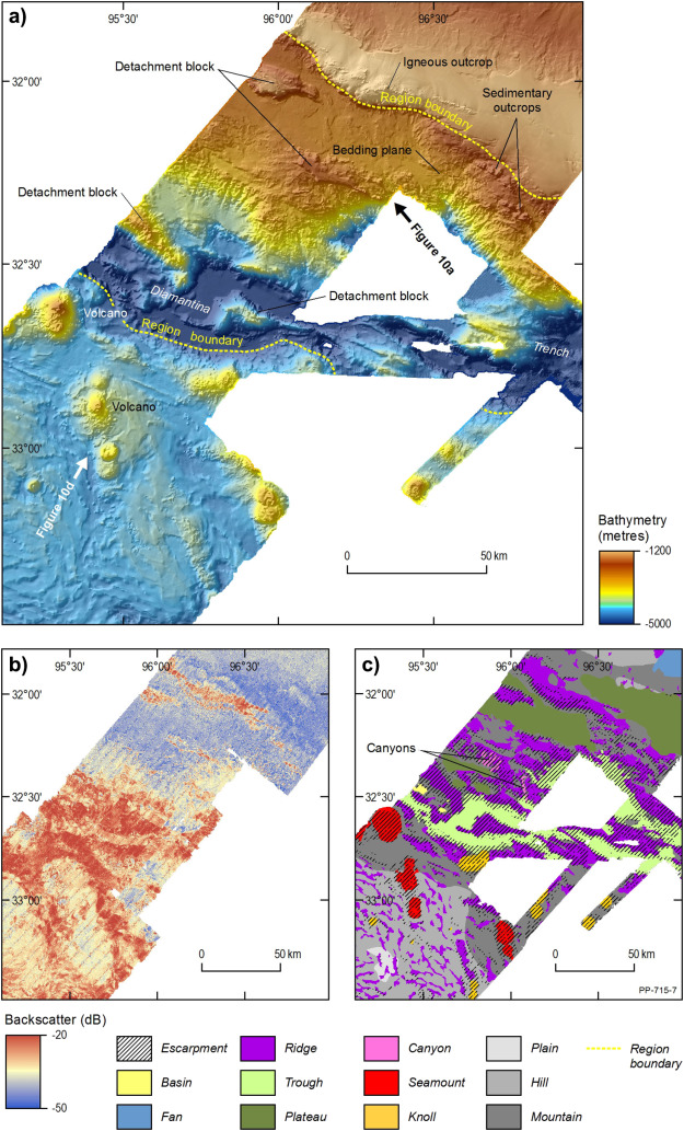 Malaysia Airlines flight MH370 search data reveal geomorphology and