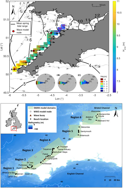 Role of waves and tides on depth of closure and potential