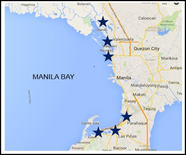 Cryptosporidium Species From Common Edible Bivalves In Manila Bay Philippines Sciencedirect Navigate manila map, manila city map, satellite images of manila, manila towns map, political map of manila, driving directions and traffic maps. common edible bivalves in manila bay
