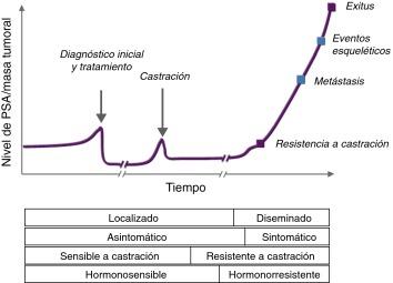 cáncer de próstata con metástasis de esperanza de vida
