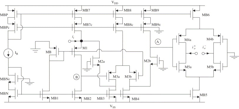 High Speed Cmos Unity Gain Current Amplifier