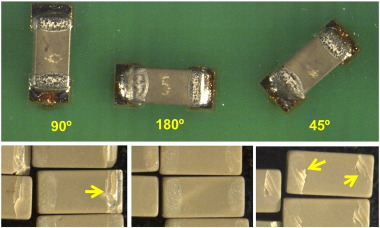 Avoiding flex cracks in ceramic capacitors: Analytical tool