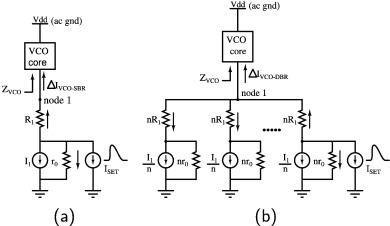 Design of SET tolerant LC oscillators using distributed bias ...