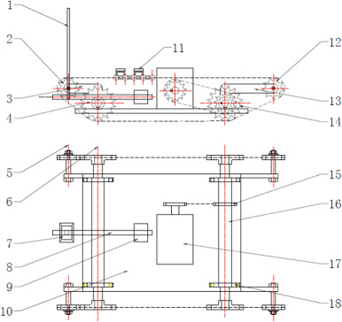 Design and performance analysis of a tracked wall climbing robot for fig 1 ccuart Gallery