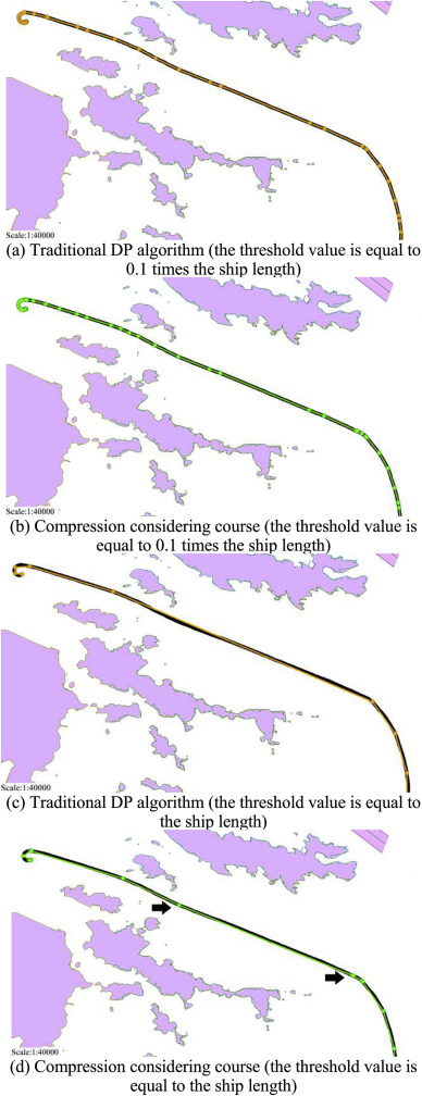 A method for simplifying ship trajectory based on improved Douglas