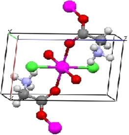 Growth and characterization of semiorganic single crystal of