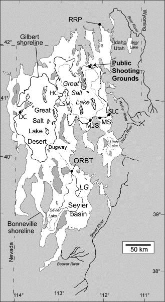 The Younger Dryas phase of Great Salt Lake Utah USA ScienceDirect