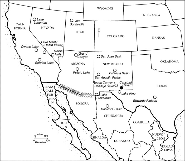 A 164 Ka Record Of Environmental Change In The American Southwest