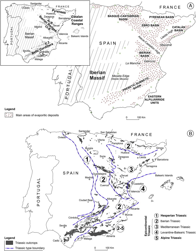 Triassic Evaporites Of Iberia Sedimentological And