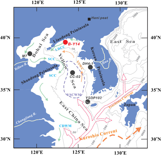 Holocene paleoenvironment changes in the northern yellow sea fig 1 gumiabroncs Gallery