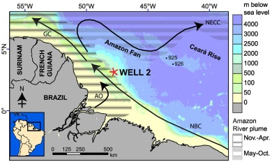 Primary Productivity In The Western Tropical Atlantic Follows