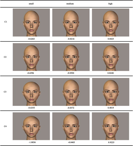 Prediction of facial attractiveness from facial proportions