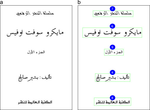 Arabic font recognition based on diacritics features