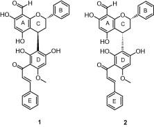 Hybrid flavan-chalcones, aromatase and lipoxygenase