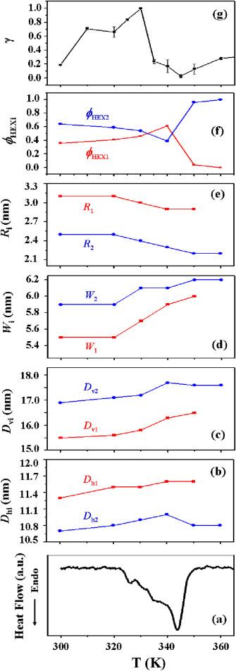 synchrotron x ray scattering and photon correlation spectroscopy