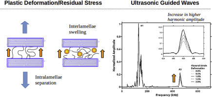 Effects of annealing and swelling to initial plastic deformation of