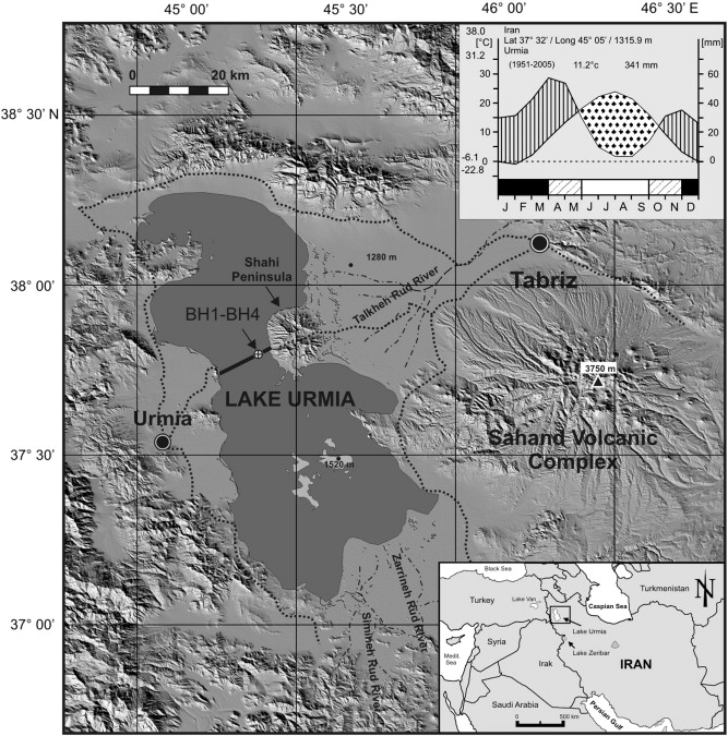 A late Pleistocene long pollen record from Lake Urmia NW Iran