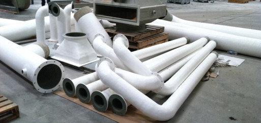 Getting ducts in a row with corrosion-resistant FRP