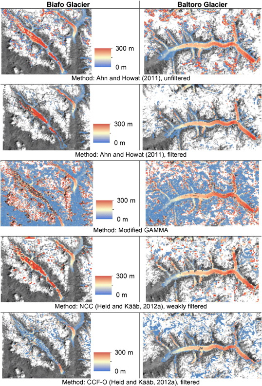 the glaciers climate change initiative methods for creating glacier