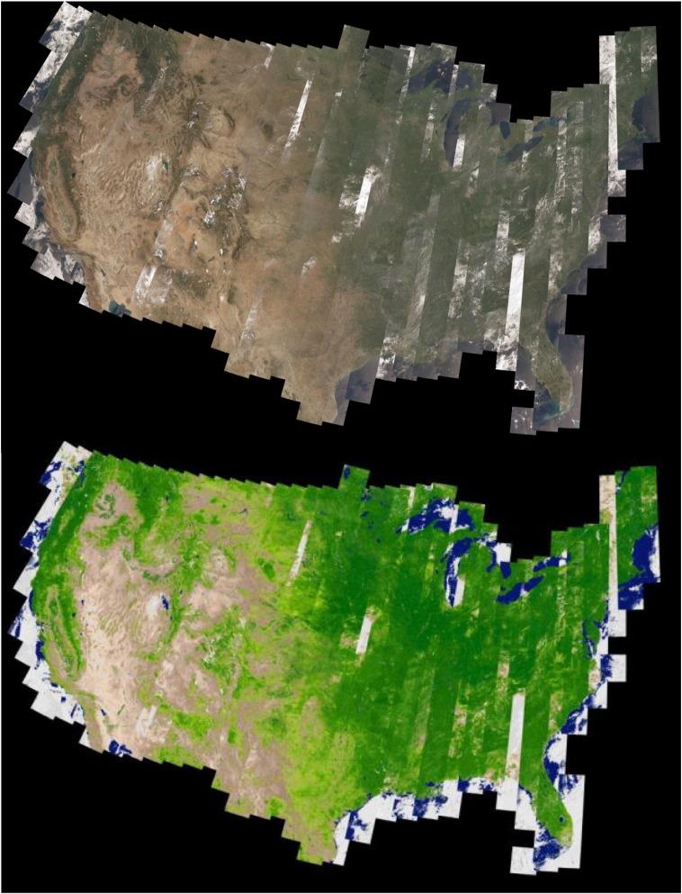 Landsat-8: Science and product vision for terrestrial global