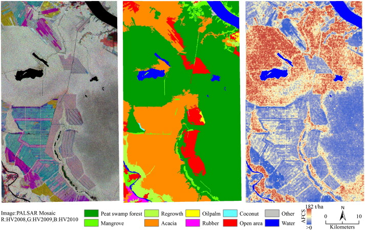 Potential of high-resolution ALOS–PALSAR mosaic texture for